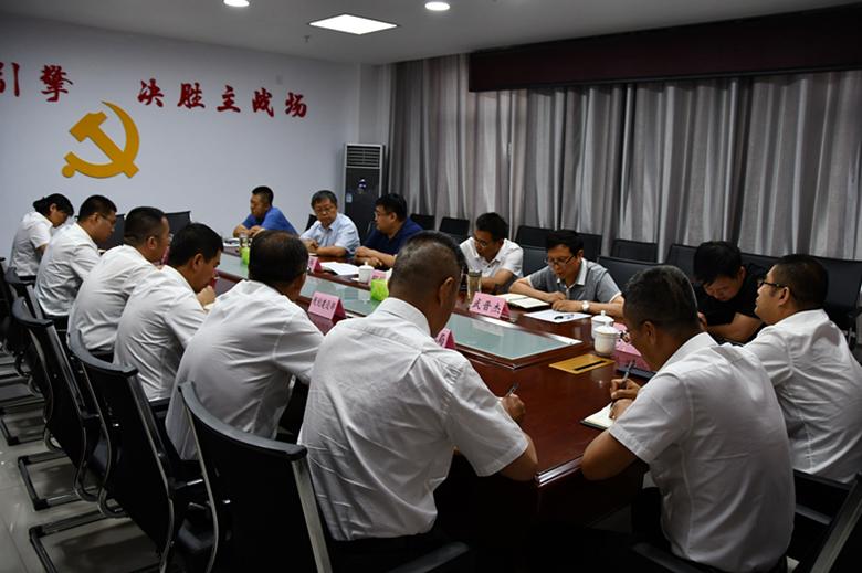 县委书记刘伟在太谷经济技术开发区调研
